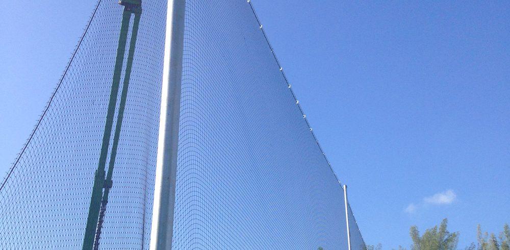 Barrier-Netting-Instal