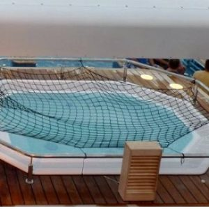 Cruise Lines Pool Safety Net